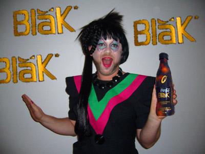 I'll have my coke blak, please!